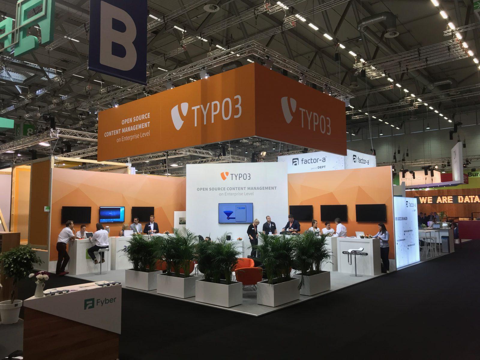 Typo 3 At Dmexco 2018 Exhibit Services